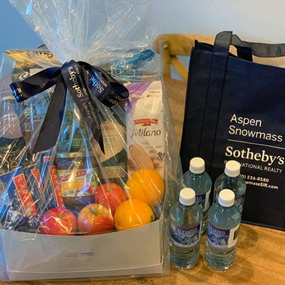 concierge gift basket