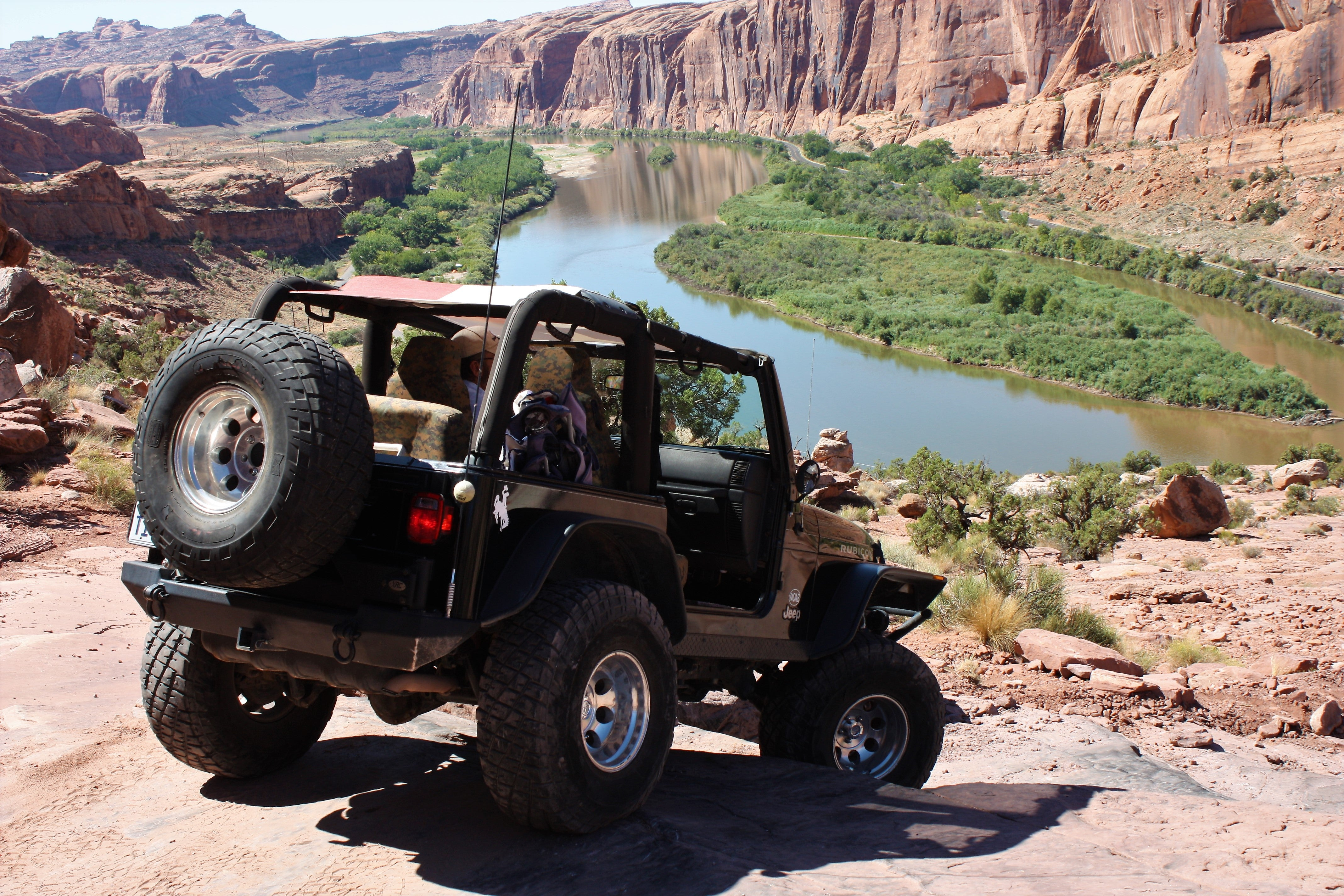 Jeep adventures in Moab, UT